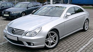 Mercedes-Benz CLS-Class (C219) Motor vehicle