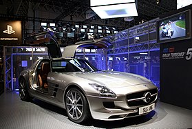 Mercedes-Benz SLS AMG at Gran Turismo 5 promotion 20090926.jpg