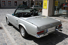 mercedes sl 280 wikipedia