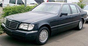 Mercedes-Benz W140 - 1996–1998 S-Class (W140)
