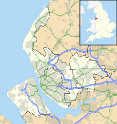 Prescot is located in Merseyside