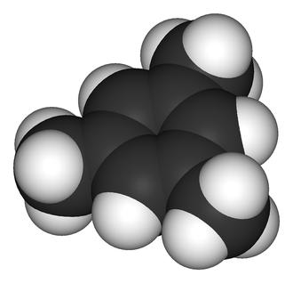 Mesitylene - Image: Mesitylene 3D vd W