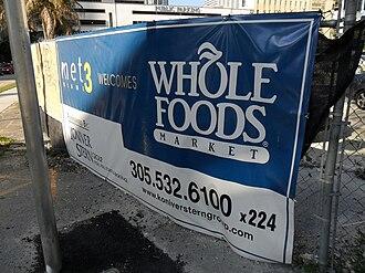 Met 3 - Image: Met 3 Miami Whole Foods sign