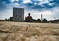 Metaphysical Yoga Meditation at Orji FlyOver, Owerri Imo State.jpg