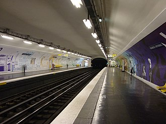 Assemblée Nationale (Paris Métro) - Image: Metro AN2008