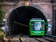 Light rail wikipedia sydneys dulwich hill line is mostly situated on segregated tracks along a former heavy rail corridor aloadofball Images