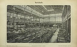 Zentralmarkthalle  [Public domain], via Wikimedia Commons