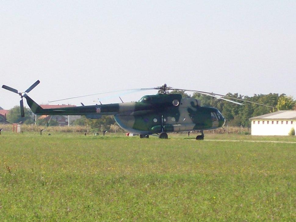 Mi-8 Croatian airforce