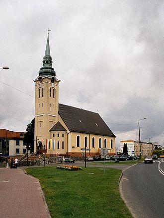 Miastko - Miastko, Church of Our Lady, July 2004
