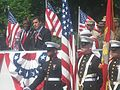 Michael Wildes, Memorial Day parade, 2006.jpg