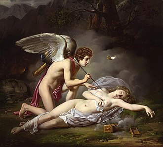 Michel Philibert Genod - Cupid and Psyche