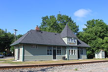 Michigan Central Railroad Dexter Depot