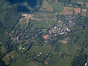 Aerial view of Middleburg