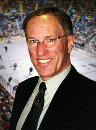 Mike Emrick - Mike Emrick at Hersheypark Arena