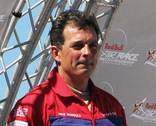 Mike Mangold American air racer