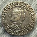 Milano, testone di galeazzo maria sforza, 1466-1476.JPG
