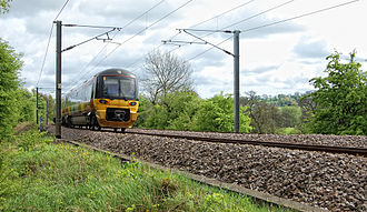 Wharfedale line - Class 333 at Milnerwood Junction in 2009