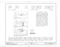 Minorcan Chapel, 39 Saint George Street, Saint Augustine, St. Johns County, FL HABS FLA,55-SAUG,32- (sheet 1 of 5).png