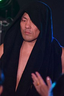 Minoru Suzuki Japanese professional wrestler and mixed martial artist