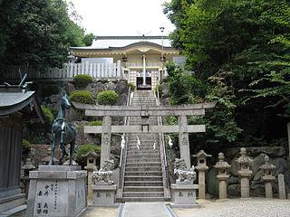 Shinto shrine in Osaka Prefecture, Japan