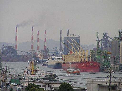 Mizushima port 23 November 2006