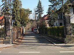 Kastanienweg in Leipzig