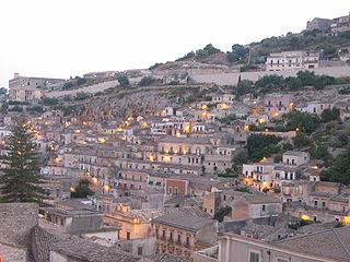 Modica Comune in Sicily, Italy