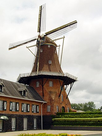 Paraná (state) - Mill in the Dutch colony of Castrolanda
