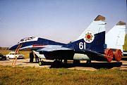 Moldovan MiG-29B trainer