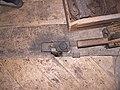 Molen Holten's Molen koningsspil 2e taplager, aandrijving door spoorwiel van olieslagerij, zagerij.jpg