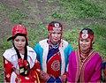 Mongol women at Naadam festival.jpg