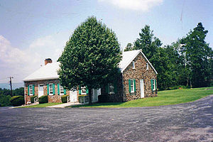 Rocky Ridge, Maryland - The Monocacy Church of the Brethren in July 1996