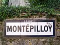 Montépilloy (60), plaque Michelin rue des Bordes.jpg