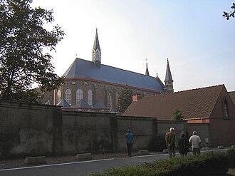 Mont des Cats - Mont des Cats abbey
