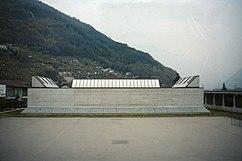 Convento y Gimnasio, Monte Carasso (1981-1984)