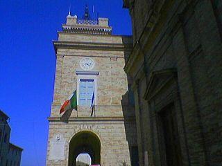 Montefano Comune in Marche, Italy