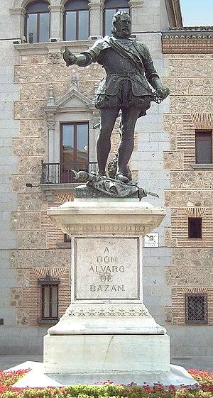 Mariano Benlliure - Image: Monumento a Álvaro de Bazán (Madrid) 01