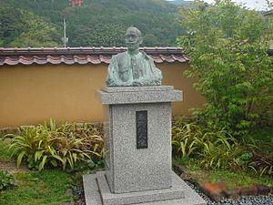 Mori Ōgai - Mori Ōgai's statue at his birthhouse in Tsuwano