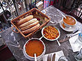 Moroccan food and drink - soup and beans (5367509971).jpg