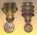 Décorations Françaises 130px-Morocco_medal_22_July_1909