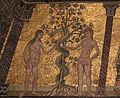 Mosaici del battistero di firenze, storie della genesi 1250-1330 ca., 04 peccato originale, attr. a gaddo gaddi.JPG