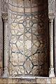 Moschea del sultano hasan, 1362, esterno 10, intarsi.JPG