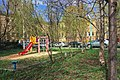Moscow, Khokhlovsky Lane 10 inside courtyard (31247098535).jpg