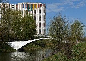 Izmailovo Hotel - Image: Moscow, Tsar Court in Izmailovo Pedestrian bridge