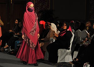 Islamic fashion -  Moslema in style fashion show at PWTC.