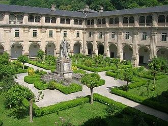 Samos, Lugo - Royal Benedictine Abbey of St. Julian of Samos