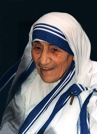 Albanians in North Macedonia - Image: Mother Teresa 1