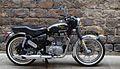 Moto Royal Enfield a l esglesia del pi BCN.jpg