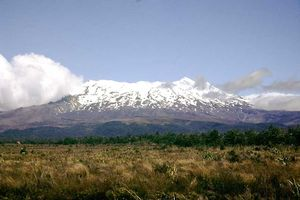 Ruapehu in January 2002