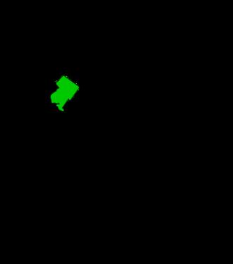 Mount Airy, Philadelphia - Map of Philadelphia highlighting the Mount Airy neighborhood